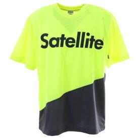 サテライト(Satellite) 2トーン ドライ Tシャツ STS2D YELLOW/GRAY (Men's、Lady's)