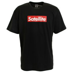 サテライト(Satellite) ドライ Tシャツ RED BOX STSDR BLACK (Men's)