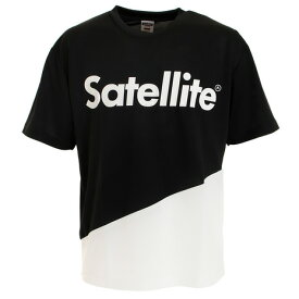 【7月10日限定 エントリー&楽天カード決済でP10倍〜】Satellite Tシャツ メンズ 半袖 2トーン ドライ STS2D BLACK/WHITE (Men's)