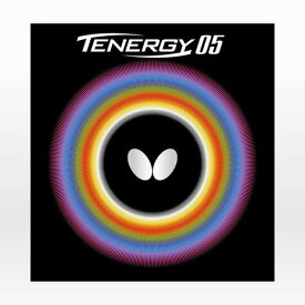【9月20日24h限定エントリーでP10倍〜】バタフライ(Butterfly) 卓球ラバー テナジー 05 黒 05800 (Men's、Lady's、Jr)