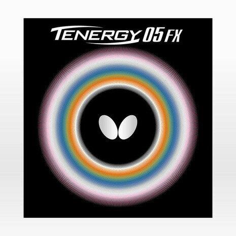 バタフライ(Butterfly) 卓球ラバー テナジー 05FX 黒 裏ソフト 05900 (Men's、Lady's、Jr)