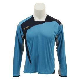 マイター(mitre) Mi-Tech プラクティスシャツ MI-1180-L SAX 【サッカー スポーツ ウェア メンズ プラクティスシャツ Tシャツ 長袖】 (メンズ)