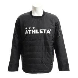 アスレタ(ATHLETA) 中綿ピステシャツ XE-291 BLK サッカー フットサル 防寒 (メンズ)