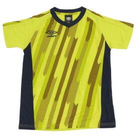 【8月11日までエントリーででP5倍~】アンブロ(UMBRO) プラクティスシャツ UUJNJA66XB SLYL 【アンブロ限定】 【サッカー スポーツ ウェア ジュニア プラクティスシャツ Tシャツ 半袖】 (Jr)