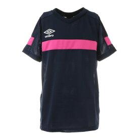 アンブロ(UMBRO) サッカーウェア ジュニア ブリーズプラスショートスリーブシャツ UUJSJA61XB NVSP (キッズ)