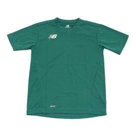 ニューバランス(new balance) ジュニア ゲームシャツ JJTF6196GRN (Jr)