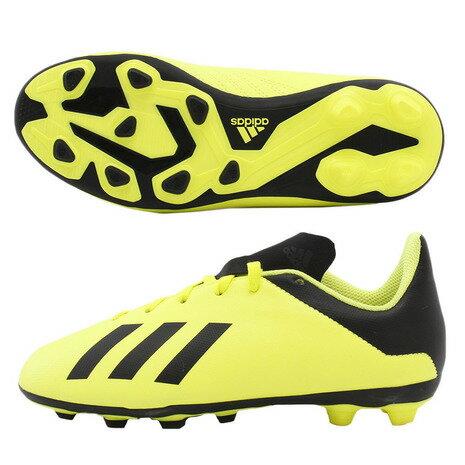 アディダス(adidas) ジュニア エックス18.4AI1J ハードグラウンド/人工芝用 FBX72-DB2420 (Jr)