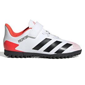 アディダス(adidas) サッカートレーニングシューズ ジュニア プレデター 20.4 TF J ベルクロ ターフグラウンド用 FV4326 サッカーシューズ (キッズ)