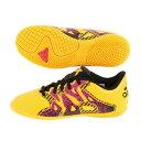 アディダス(adidas) エックス 15.4 IN J インドア用 S74605 (Jr)
