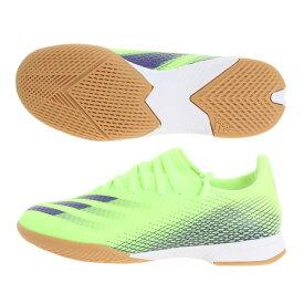 アディダス(adidas) インドアトレーニングシューズ ジュニア インドア用 エックス ゴースト.3 IN EG8223 フットサルシューズ サッカーシューズ (キッズ)