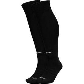 ナイキ(NIKE) サッカーソックス 2足組 アカデミーフットボールDRI-FITソックス SX4650 001 ストッキング 靴下 大人 子供 (メンズ、レディース、キッズ)
