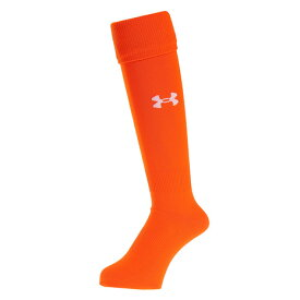 アンダーアーマー(UNDER ARMOUR) サッカー ソックス ソリッドソックス3 SSC3779 ストッキング メンズ オレンジ 靴下 (メンズ)