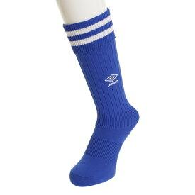 アンブロ(UMBRO) サッカー ソックス ジュニア プラクテイス ストッキング UBS8810 BLU21 靴下 (キッズ)