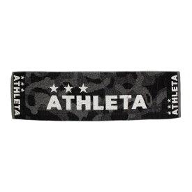 【9月20日24h限定エントリーでP10倍〜】アスレタ(ATHLETA) サッカー スポーツタオル 5202 BLK (Men's、Lady's、Jr)