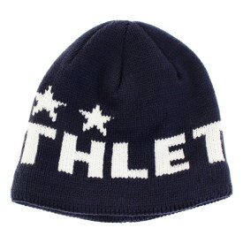 アスレタ(ATHLETA) ジュニア ニットキャップ 5248J NVY サッカー フットサル 防寒 ニット帽 (キッズ)
