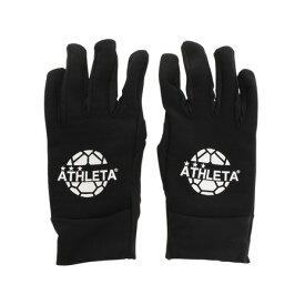アスレタ(ATHLETA) ジュニア フィールドグローブ 5262J BLK サッカー フットサル 防寒 防水 手袋 (キッズ)