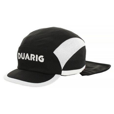 デュアリグ(DUARIG) ジュニア フットボールキャップ 日除け付 750D8ST124 BLK (Jr)