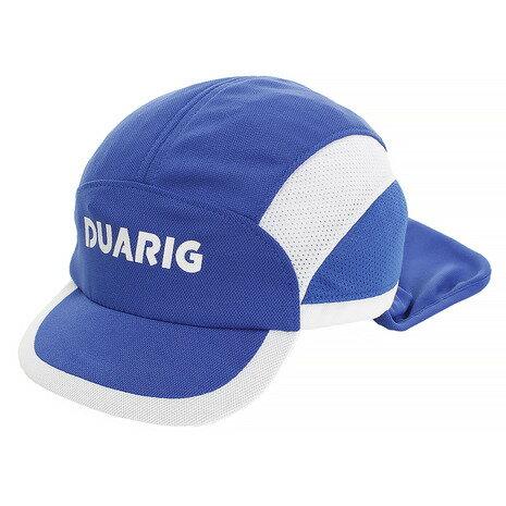 デュアリグ(DUARIG) ジュニア フットボールキャップ 日除け付 750D8ST124 BLU (Jr)