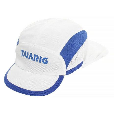 デュアリグ(DUARIG) ジュニア フットボールキャップ 日除け付 750D8ST124 WHT (Jr)