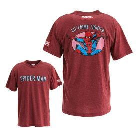 マーベル(MARVEL) 【ポイント15倍】【多少の傷汚れありの為大奉仕】Tシャツ メンズ 半袖 MARVEL スパイダーマン DS0181006 バスケットボール ウェア (メンズ)