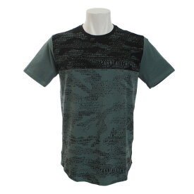 アンダーアーマー(UNDER ARMOUR) SC30 CAMO プリントTシャツ 1323727 TDG/BLK/BLK BK (Men's)