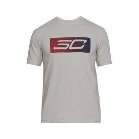 アンダーアーマー(UNDER ARMOUR) 【多少の傷汚れありの為大奉仕】SC30ロゴTシャツ #1305756 GSG/SLY BK (Men's)