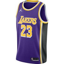 ジョーダン(JORDAN) NBA LAL スウィングマン ジャージ レブロン・ジェームズ CV9481-508 (メンズ)
