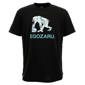エゴザル(EGOZARU) Tシャツ 半袖 GOUACHE ロゴ EZST-2004-012 (Men's)