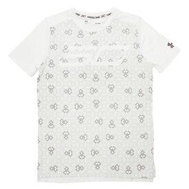 アンダーアーマー(UNDER ARMOUR) ジュニア SC30 Tシャツ #1306218 WHT/WHT/BLK BK (Jr)