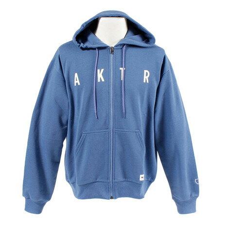 アクター(AKTR) スウェットジップパーカー 218-015010 BL (Men's)