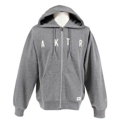 アクター(AKTR) スウェットジップパーカー 218-015010 GY (Men's)