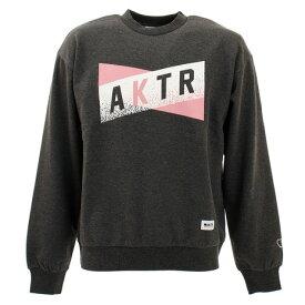 アクター(AKTR) スウェットシャツ トレーナー クルーネック 219-058010 CH 【バスケットボール ウェア メンズ】 (メンズ)