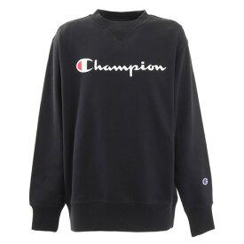 【買いまわりでポイント最大10倍!】チャンピオン(CHAMPION) ジュニア クルーネックスウェット CK-QB021 090 (Jr)
