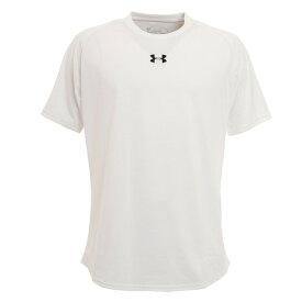 アンダーアーマー(UNDER ARMOUR) Tシャツ メンズ 半袖 ロングショット 1.5 1359632 WHT BK バスケットボール ウェア (メンズ)
