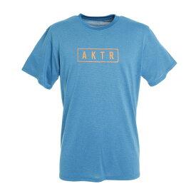 アクター(AKTR) Tシャツ メンズ 半袖 ロゴ 120-062005 BL 【 バスケットボール ウェア 】 (Men's)