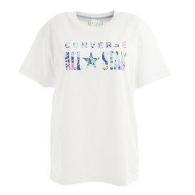 コンバース(CONVERSE) レディース バスケットボールウェア プリントTシャツ CB312352-1100 (レディース)