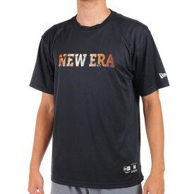 【9/20はエントリーで会員ランク別P10倍】ニューエラ(NEW ERA) バスケットボールウェア 半袖 テック Tシャツ フロントロゴ バスケットボール 12852933 (メンズ)
