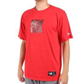 【9/20はエントリーで会員ランク別P10倍】ニューエラ(NEW ERA) Tシャツ メンズ 半袖 BB OFF COURT 12375750 バスケットボール ウェア (メンズ、レディース)