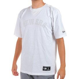 【9/20はエントリーで会員ランク別P10倍】ニューエラ(NEW ERA) Tシャツ メンズ 半袖 BB OFF COURT 12375753 バスケットボール ウェア (メンズ、レディース)
