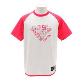 スポルディング(SPALDING) Tシャツ SUPERGIRL PK SMT181340PK (Lady's)