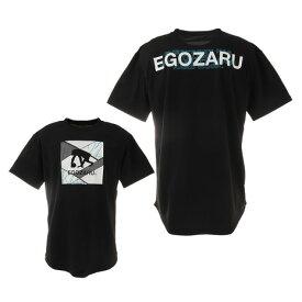 エゴザル(EGOZARU) バスケットボールウェア SQUARE LOGO FISSURE Tシャツ EZST-2117-012 (メンズ)