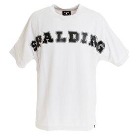 スポルディング(SPALDING) 【ゼビオ限定】 Tシャツ ブロック SMT193050WH (Men's)