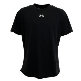 アンダーアーマー(UNDER ARMOUR) Tシャツ メンズ 半袖 ロングショット 1.5 1359632 BLK BK バスケットボール ウェア (メンズ)