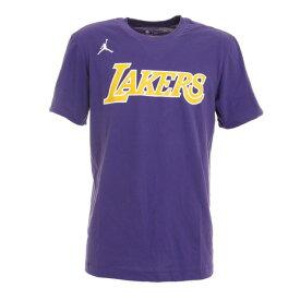 ナイキ(NIKE) ロサンゼルス・レイカーズ STMT WM CK9033-547 バスケットボール ウェア Tシャツ 半袖 メンズ (メンズ)
