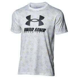 【9/20はエントリーで会員ランク別P10倍】アンダーアーマー(UNDER ARMOUR) テック フルプリント Tシャツ 1364720 100 バスケットボールウェア (メンズ)