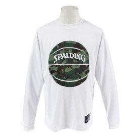 スポルディング(SPALDING) 【ゼビオ限定】 カモフラージュ柄 ロングスリーブTシャツ SMT183090 (Men's)