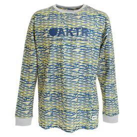 アクター(AKTR) Tシャツ メンズ 長袖 SCRATCH CAMO スポーツ 219-020005 GYYL 【バスケットボール ウェア】 (メンズ)