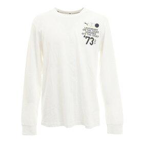 【20%OFFクーポンあり 9/26迄】プーマ(PUMA) Tシャツ メンズ 長袖 パーケット グラフィックシャツ 59993701 バスケットボール ウェア (メンズ)