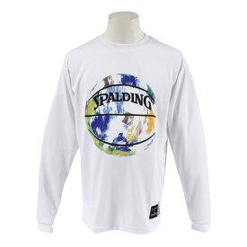 スポルディング(SPALDING) 【ゼビオ限定】 マーブル柄 ロングスリーブTシャツ SMT183100 (Men's)