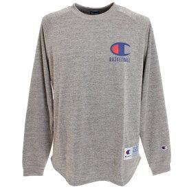 チャンピオン(CHAMPION) THERMAL GRID 長袖Tシャツ C3-NB451 070 (Men's)